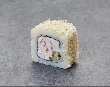 """""""Snow crab"""" roll"""